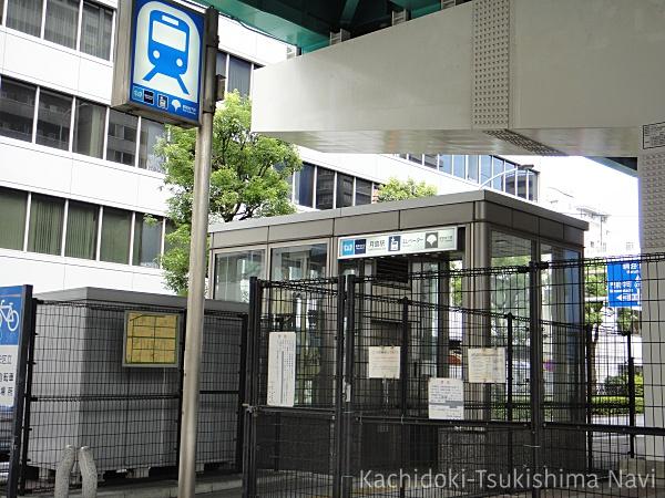 月島駅エレベーター